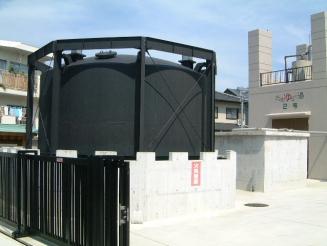 温泉ガスホルダー
